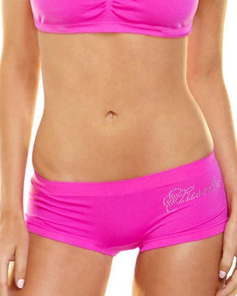 Ur-ID 219811 Hustler Lingerie - Women Pink Seamless Bling Bootyshort