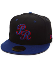 Men - Puerto Rico Rep your country 5950 fitted hat