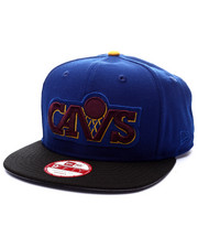 Men - Cleveland Cavaliers Infrared blue edition 950 snapback hat (Drjays.com Exclusive)