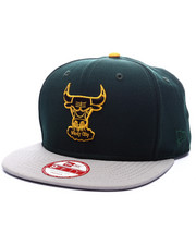 Men - Chicago Bulls Gem Green Edition 950 Snapback hat (Drjays.com Exclusive)