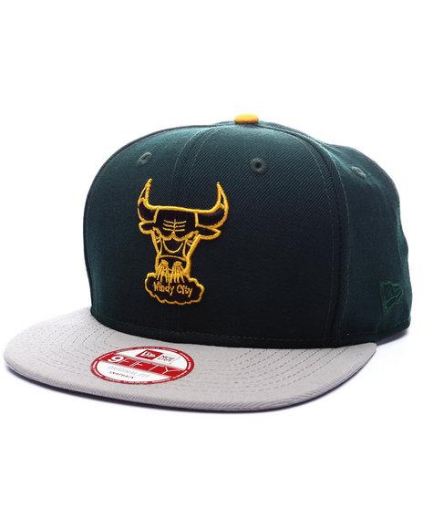 Ur-ID 223329 New Era - Men Green Chicago Bulls Gem Green Edition 950 Snapback Hat (Drjays.Com Exclusive)