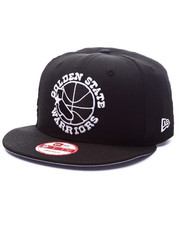 Men - Golden State Warriors Black Ink edition 950 Snapback Hat(Drjays.com Exclusive)