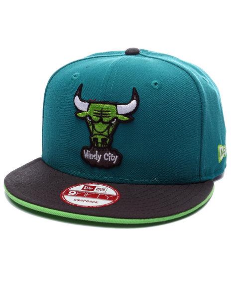 Ur-ID 223341 New Era - Men Forest Green Chicago Bulls Fungai Edition 950 Snapback Hat (Drjays.Com Exclusive)