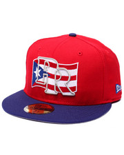 Men - Puerto Rico Flag 5950 fitted hat