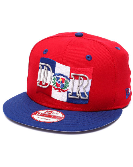 New Era Red Snapback