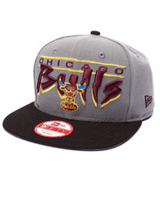 Men - Chicago Bulls Scriptic edition 950 Snapback hat (Drjays.com Exclusive)