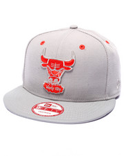 Men - Chicago Bulls Double grey Reflective 40th Anniversary Edition Snapback hat