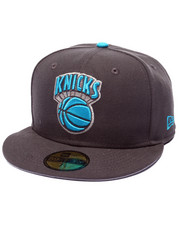 Men - New York Knicks Graphite Sky's edition 5950 SNapback Hat