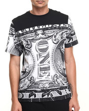Men - All over Money Print s/s tee