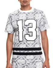 Men - Bandana Print Athletics s/s tee