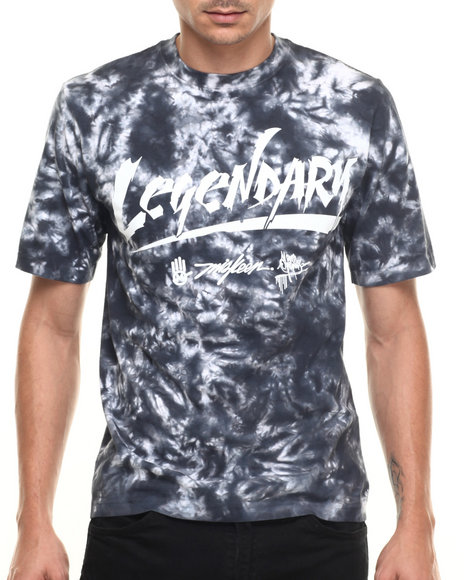 Miskeen - Men Black Legendary Tie Dye S/S Tee