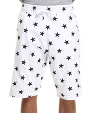 Men - All over Stars french terry shorts