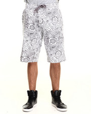 Men - Paisley All over print drawstring shorts