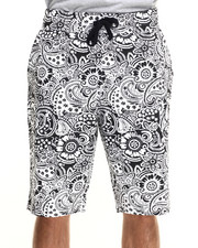 Buyers Picks - Paisley All over print drawstring shorts