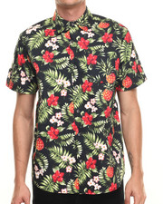 Buyers Picks - All ove tropics print s/s button down shirt