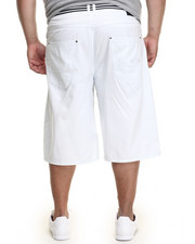 Enyce - High Road Cotton Twill Belted Short (B&T)