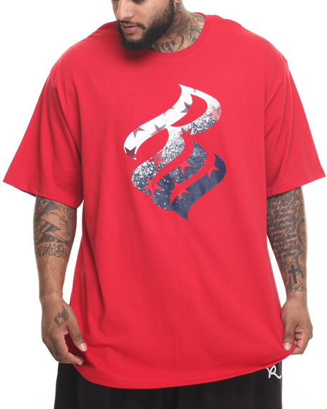 Ur-ID 219945 Rocawear - Men Red Rw Regiment Tee (B&T)