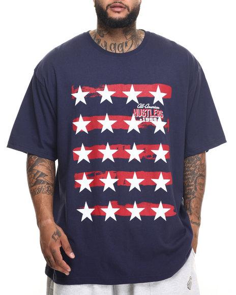 Ur-ID 219947 Rocawear - Men Navy 99 Hustler Tee (B&T)