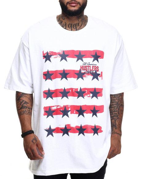 Rocawear - Men White 99 Hustler Tee (B&T) - $32.50
