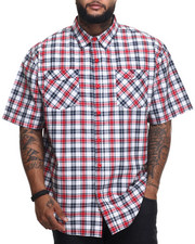 Rocawear - Brick & Mortar S/S Button-down (B&T)