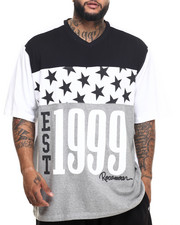 Rocawear - Black Star V-Neck Tee (B&T)