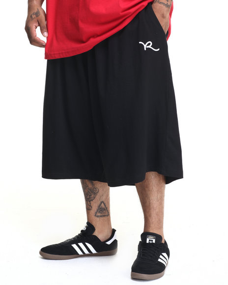 Rocawear - Men Black Urban Legend Shorts (B&T)