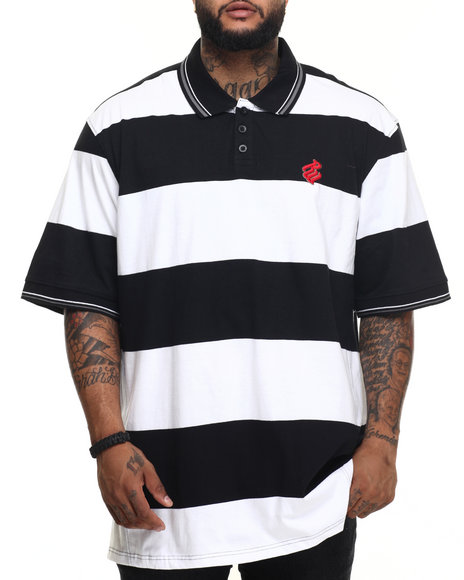 Rocawear - Men Black Roc Club Polo (B&T) - $50.00