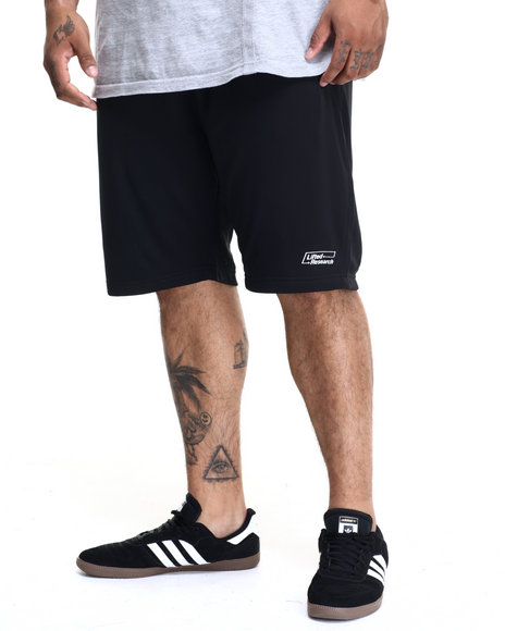 Lrg - Men Black Pit Lane Basketball Short (B&T)
