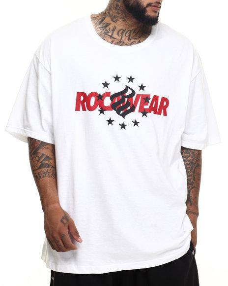 Rocawear - Men White Rocawear Stars Tee (B&T)