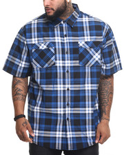Rocawear - Sleepness Night S/S Button-down (B&T)
