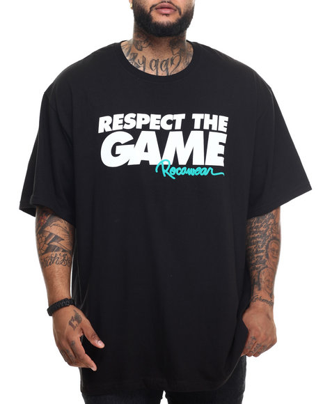 Rocawear - Men Black Respect The Game Tee (B&T) - $32.50