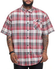 Rocawear - Red Concrete S/S Button-down (B&T)