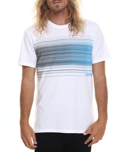Ur-ID 220012 Zoo York - Men White Barcode S/S Tee