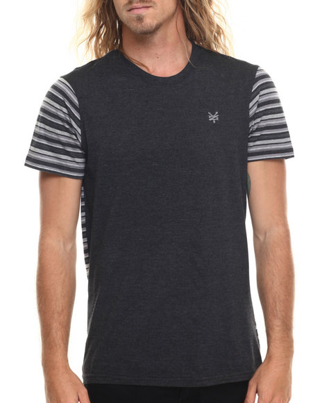 Ur-ID 220026 Zoo York - Men Black Multi - Liner S/S Tee