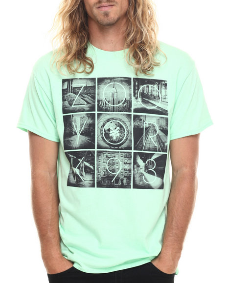 Ur-ID 219942 Zoo York - Men Green True Rust S/S Tee