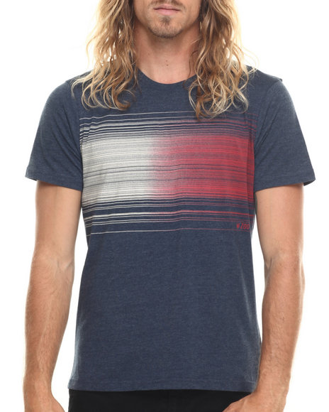 Ur-ID 220019 Zoo York - Men Navy Barcode S/S Tee