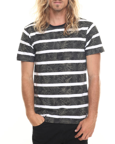 Ur-ID 220038 Zoo York - Men Black,Olive Stripe It S/S Tee