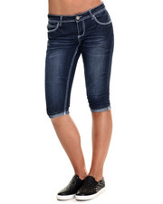 Basic Essentials - Rebel By Right Cropped Roll Cuff-Flap Pocket Jean