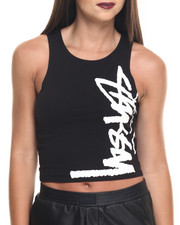 Tops - Bodycon Racer Tank