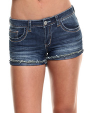 Shorts - Cut-Off Denim Short