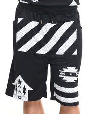 Shorts - S Q Z Solid Mesh Shorts