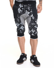 Men - M C M X I V Floral Fleece Shorts