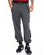 Men - Zip Contrast Stripe Jogger