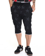 Buyers Picks - Stars Printed Fleece Shorts