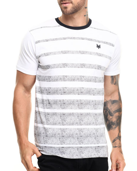 Ur-ID 220106 Zoo York - Men Black Tracks Stripe S/S Tee