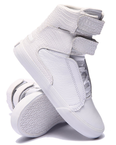 Ur-ID 220119 Supra - Women White Society Ii Sneaker