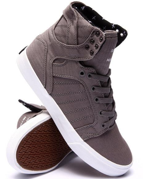 Ur-ID 220120 Supra - Men Grey Skytop Sneakers