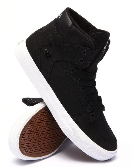 Ur-ID 220128 Supra - Men Black Vaider Sneakers