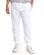 Basic Essentials - Dual - Layered Mesh Jogger Pants