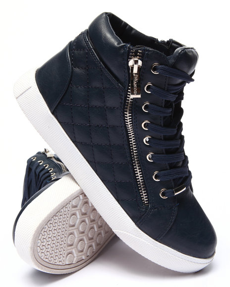 Fashion Lab Navy Sneakers